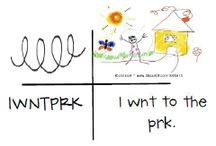 kindergarten writing / by Brittany McKinney