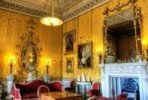 The Yellow Drawing Room / The Yellow Drawing Room is an example of the beautiful architectural design by Robert Adams that adorn Harewood House, Yorkshire. / by Harewood House