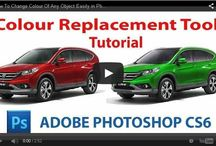 Photoshop tips / photoshop tutorials photo effects / by Aleksander_Karaoke