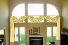 Design Ideas / Design ideas for window treatments.  http://www.toledo-window-treatments-windows-blinds-coverings-drapery.com/blog / by Window Treatments