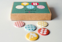 Buttons en magneten / by Severine Rinckhout
