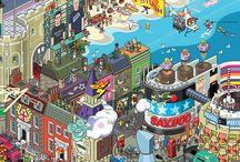 Pixel Art / by Andrew Herwig