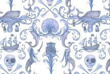 Fabrics I like / by Anita Gallagher