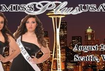 Ist Annual Competition in Seattle, WA! / Join us for the pageant week of a lifetime! / by Miss Plus USA™