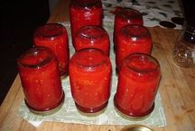Canning....yes, that's what I said! / I've turned into my grandmother!   / by Kay Howell