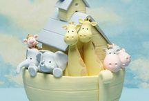Shower Them With Cake: Neutral / Baby neutral shower cake. / by Satin Ice