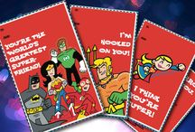 DC Comics Valentines Day / Have a super sweetie in your life? They're sure to love these cards and gifts.  / by DC Comics