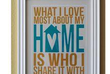 Home inspirations / by Amanda Dreyer