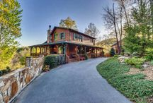 For sale in blue Ridge, GA / Our cabin and guest cabin are for sale! / by Susan Van Veld