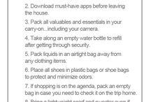 Travel Tips & Tricks / by Royal Oak Inn & Suites, Brandon Manitoba
