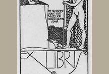 Bookplates - ex libris / by Out of Print