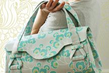 bags - sewn, holdall / by The Crafter's Apprentice