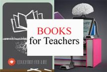 Books for Teachers / Books, magazines, and journals for teachers. / by Tree Top Secret Education
