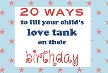 Birthday Ideas / by Kay Bowman