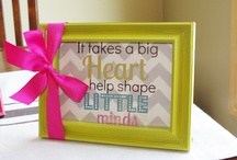 Teacher gifts / by Tammy Sams Lentz