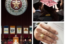 Graduation / Current to Former, turn your ring around, face the world.  / by Aggieland Outfitters