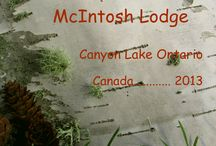 Canyon Lake Ontario Canada / A few pics from our 2013 vacation in Canada, fishing pole and camera in hand. / by Rich Hoback