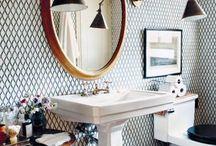 Bathrooms / by Jodi Mellin Interior Design