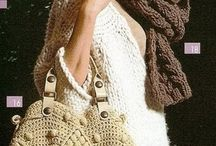Crochet bag  & purses,knit bag / by Mikyoung Chung