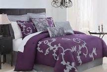 grey and purple bedroom? / by Tessa Lolcatz