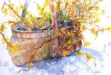 Watercolors / by Shirley Taber