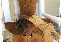 fall decorations / by Julie Barber