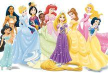 Disney Princesses / by Crystal Mascioli