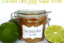 SUGAR SCRUB LOVE / Love making these for myself and family and friends! Have even sold a few. See more homemade beauty on my Natural Beauty 101 board / by Barbi McCurry