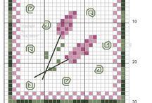 Square Cross Stitch Patterns / Small patterns / by Cynthia Mustard-Hedeen