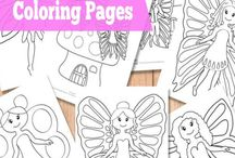 Coloring Book / by Coloma Public Library