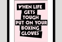 Boxing / Gloves ON! / by David Kinyast