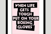 Boxing / Gloves ON! / by David Kinyast