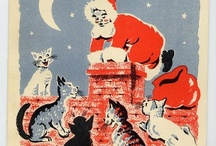Christmas cats / by jill crowe