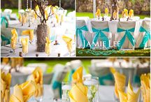 Wedding Colours/Themes / Eye catching colours and/or themes for a wedding! / by Fiona White