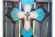 Wall art Crosses / by Angee Hughes
