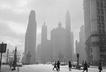 The Past / Old photos of cities :) / by Julie Ching