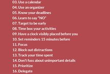 TIME MANAGEMENT TIPS / by Eastern Illinois University Academic Advising Center