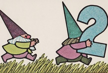 "A Donsy of Gnomes / I have always had a fascination with gnomes (also known as tomte, nisse, or kabouter), which I attribute to my Scandinavian heritage & my love of Rien Poortvliet's artwork in the book ""Gnomes"" by Will Huygen. / by Brad Jacobson"