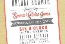 Bridal shower ideas / by Kellie Fitzpatrick