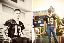 Senior Photo Poses for Guys / by Amy Westerman