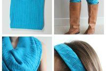Reuse Sweaters / by Christine Turner|Reuse It Gal