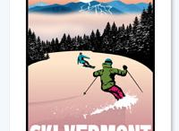 Ski and Ride Vermont / Pics and posters of skiing and riding in Vermont. / by All Mountain Mamas