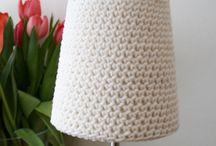 Crochet  lampshades / by Gordana Otahal Bjerborn