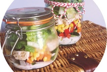 Salads. Yum. / by Arianne Segerman