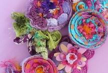 FABRIC Art, Quilts, & crafts / by Martina Tkacz