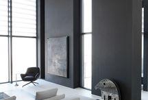 NDA Unit 3 - Achromatic colour scheme (contemporary) / by Lotte Keetch