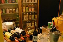 Dollhouse Bar / The well-stocked miniature bar, wine cellar, liquor cabinet / by Ann Johnston