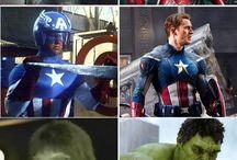 Superheroes!! / by Cordelia Carstairs