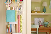 craft room / by Crissy's Crafts