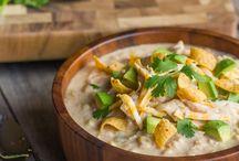 food & beverages: soups / by Rebekah Krueger